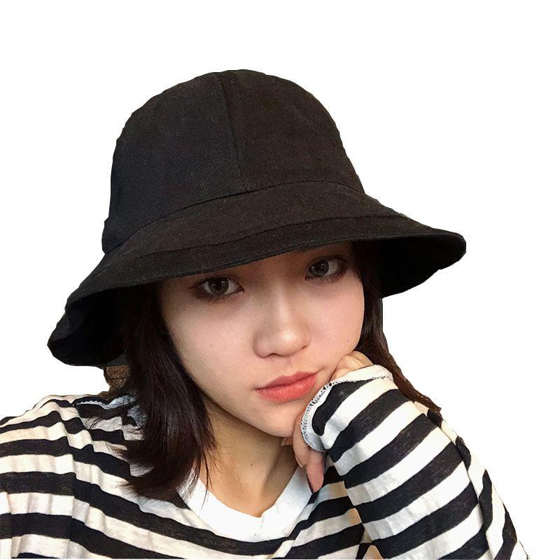 b960d1f24ff 2019 Hat Female New Fisherman Hat Tide Korean Version of the Wild ...