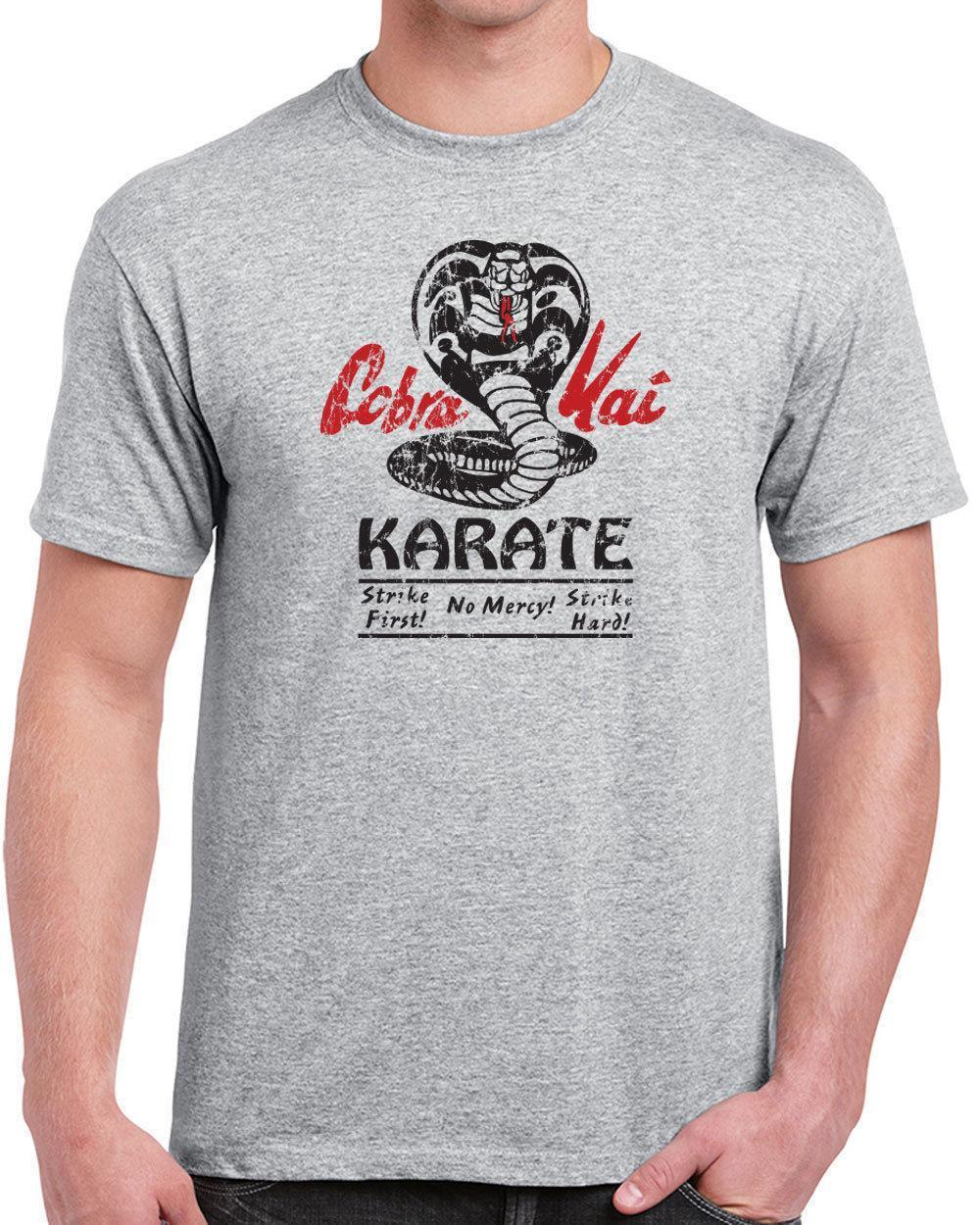 3e608b908af Funny Shirts Men S O Neck Kai Dojo Karate Movie 80S Kid Costume Vintage  Short Sleeve Fashion 2018 Tees Awesome Shirt Designs Funny Slogan T Shirts  From .