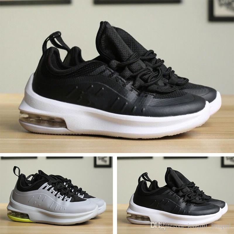 c4a793bcd89 Compre Nike Air Max 98 Las Mejores Zapatillas De Deporte Para Niños  Chaussures Classic 98 Kids Running Shoes Black White Trainer Air Cushion  Breathable Boy ...