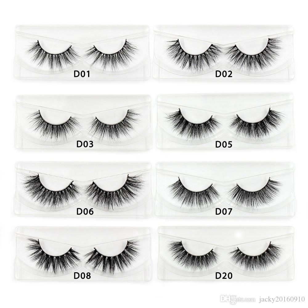 6c1df79bd01 Mink Lashes 3D Mink Eyelashes Cruelty Free Natural False Eyelashes ...