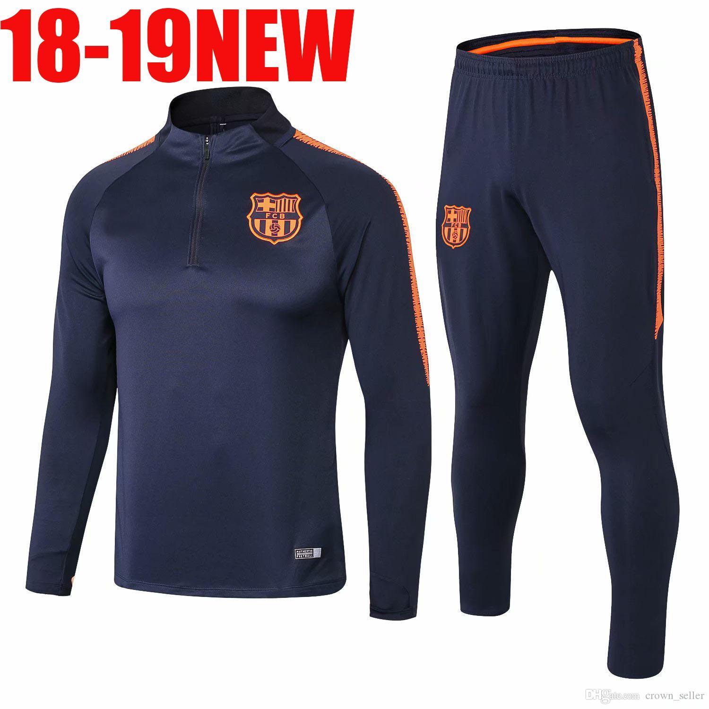 finest selection 3ee59 4a9b5 10 Messi Barcelona Soccer Jersey 2018 Mens 8 Iniesta Suarez MALCOM Dembele  Coutinho Suarez Football shirts 19 NEW tracksuit jacket