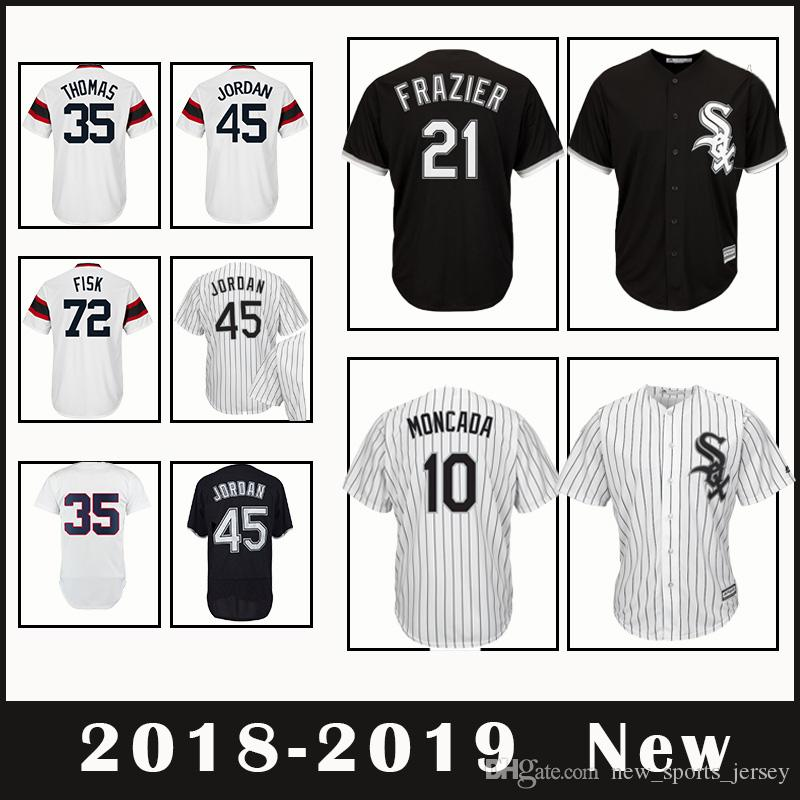 585661c6b ... canada chicago white sox baseball jersey 10 yoan moncada 72 carlton  fisk 21 todd frazier 35