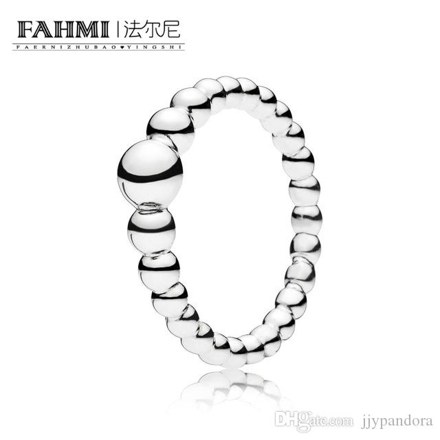 b75579af5 2019 FAHMI 100% 925 Sterling Silver New 1:1 197536 String Of Beads Ring  Fashion Women Elegant Gift Jewelry Factory Direct From Jjypandora, $9.74 |  DHgate.