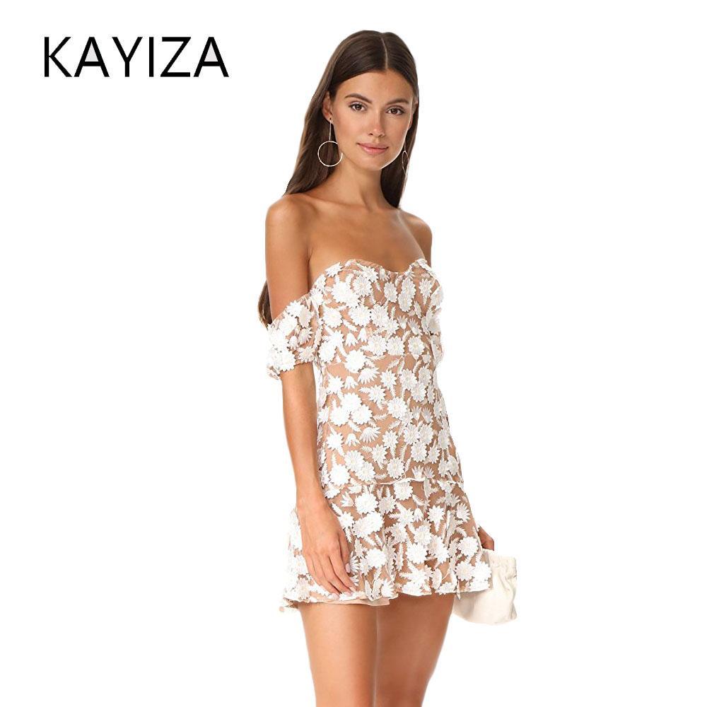67fd607c22 2019 KAYIZAN Luxury 2018 Summer For Love & Lemons Women'S Amelia Strapless  Mini Dress From Zhusa, $28.69 | DHgate.Com