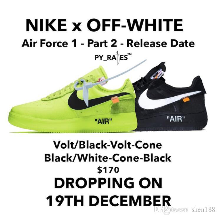 59b22ab3ed2f0 Off White X Nike Air Force 1 Low Sneakers For Men Women Luxury Designer  Casual Sport Shoes Trainer Running Shoes Top Quality Deck Shoes Mens Boat  Shoes From ...