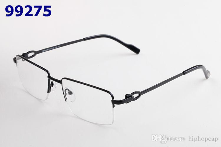 Fashion Half Frame Ultralight Glasses Woman Men Shortsighted Myopia Half Rim Alloy Metal Glasses Frame for Eyeglasses Optical Eyewear