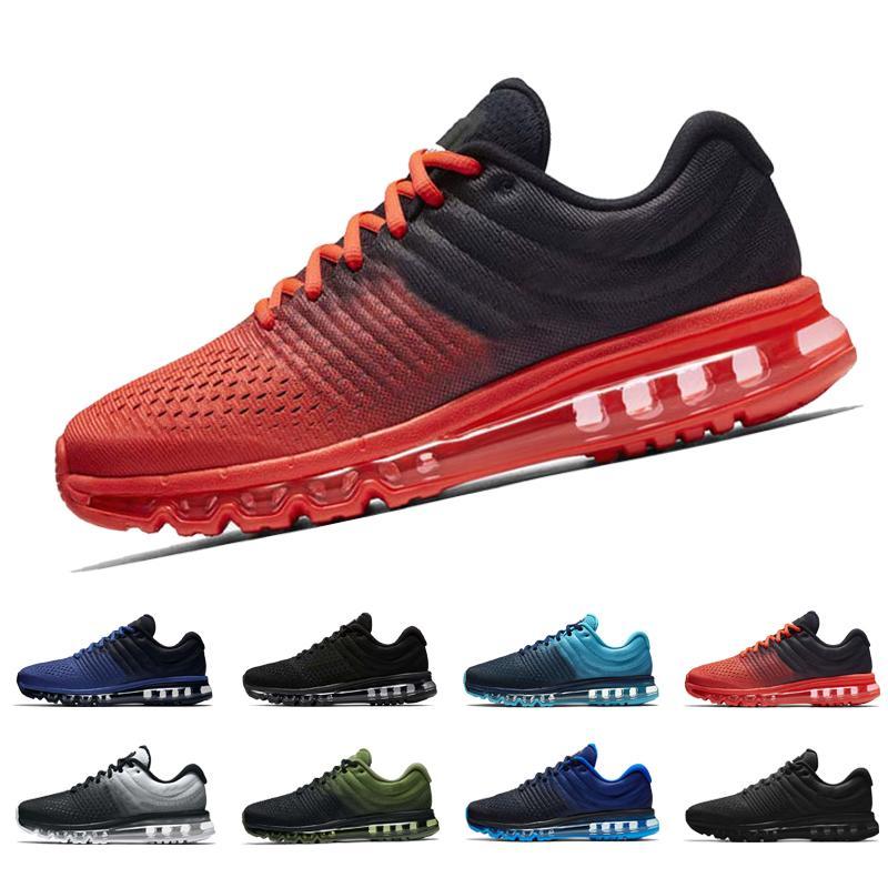 pretty nice 3b025 d20c6 Acheter Coussin Pour Hommes 2017 Design De Plein Air Athlétique Sporting  Sneakers Pour Les Femmes Noir Blanc Gris Rose Oreo Rouge Mode Casual  Chaussures De ...