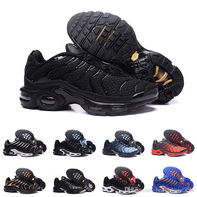 new styles 5cc61 034a7 Acquista 2019 Tn Scarpe Da Ginnastica Da Uomo Sneakers Da Uomo Firmate  Sneakers Sportive Traspiranti Nere Rosse Blu Oro Taglia 40 45 A  82.45 Dal  ...