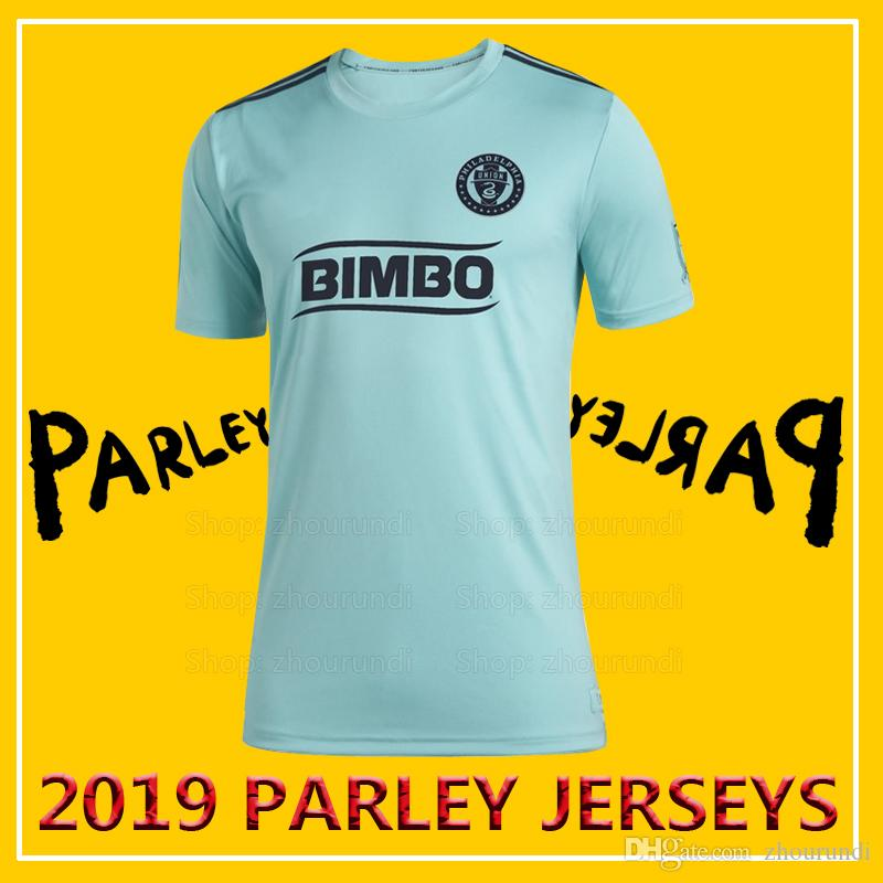 huge discount f6eb3 37cb1 2019 Philadelphia Union Parley soccer jerseys Accam shirt 2019 Philadelphia  Union x MLS x Parley eco-friendly jersey Running Jerseys XXS-4XL