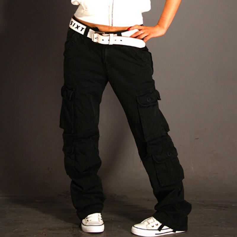 De Mayor Urbanos Casual Overoles Mujer Chinos Carga Ejército Pantalones Sueltos Ama Baggy Por Hiphop Pantalon Harem 2019 Tácticos XulwOPZTki