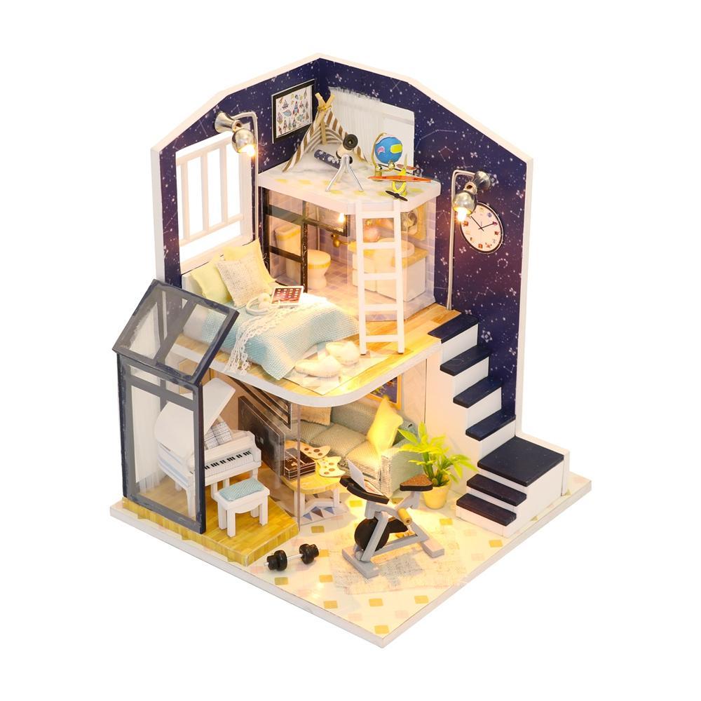 Acquista Nuova Casa Delle Bambole Fai Da Te In Miniatura Con Mobili