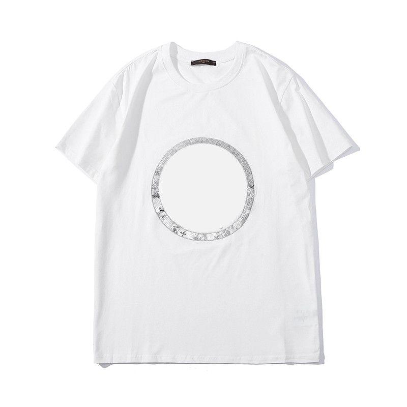 2019 New Designer T Shirt Mens Summer Shirts Men and Women Brand T Shirt  Hip-hop Muti-Style Short Sleeve Women Top Size S-2XL