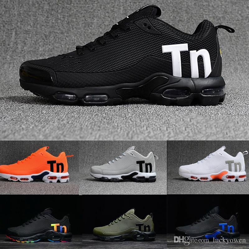 7130099b7dfcd Acheter Nike Tn Plus Air Max Airmax Tns 2018 Air Chaud Mercurial Plus Tn  Ultra SE 13 Couleurs Chaussures De Course En Plein Air TN Chaussures Hommes  Net ...
