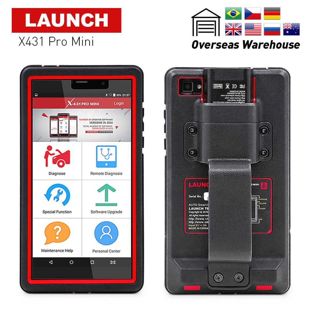 Launch X431 Pro Mini With Bluetoothwifi 2 Years Free Update Online