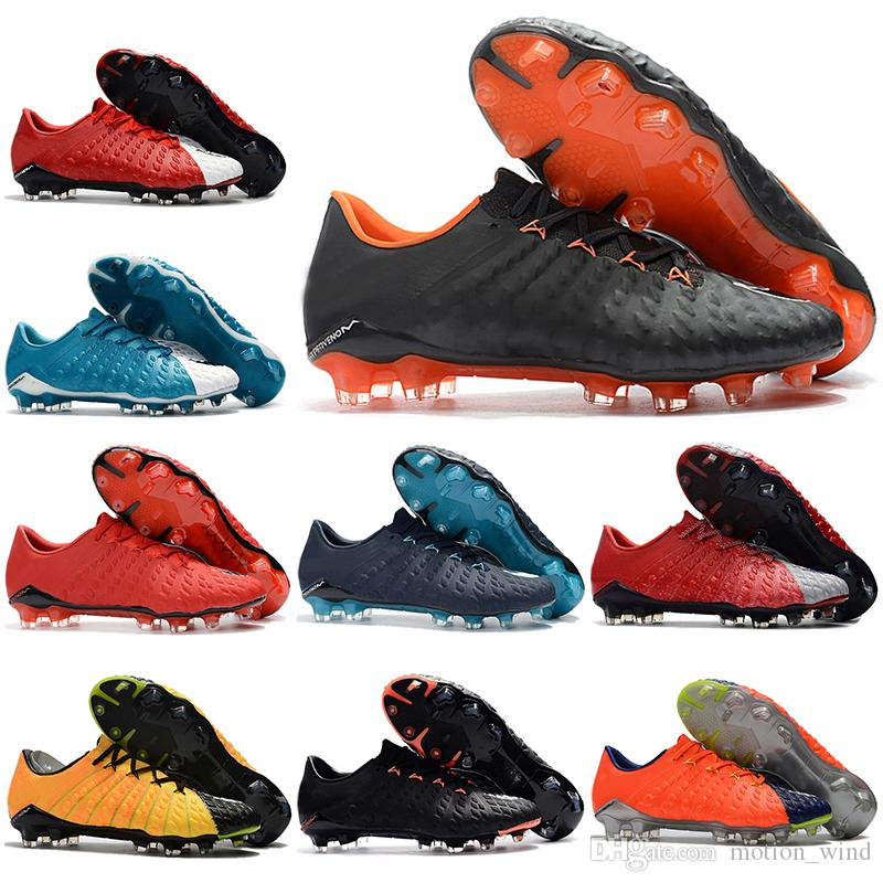 8aa2d6fa1894 2019 Mens Low Ankle Football Boots 3D Hypervenom Phantom III DF FG Soccer  Shoes Superfly ACC Hypervenom 3 Original Soccer Cleats From Motion wind