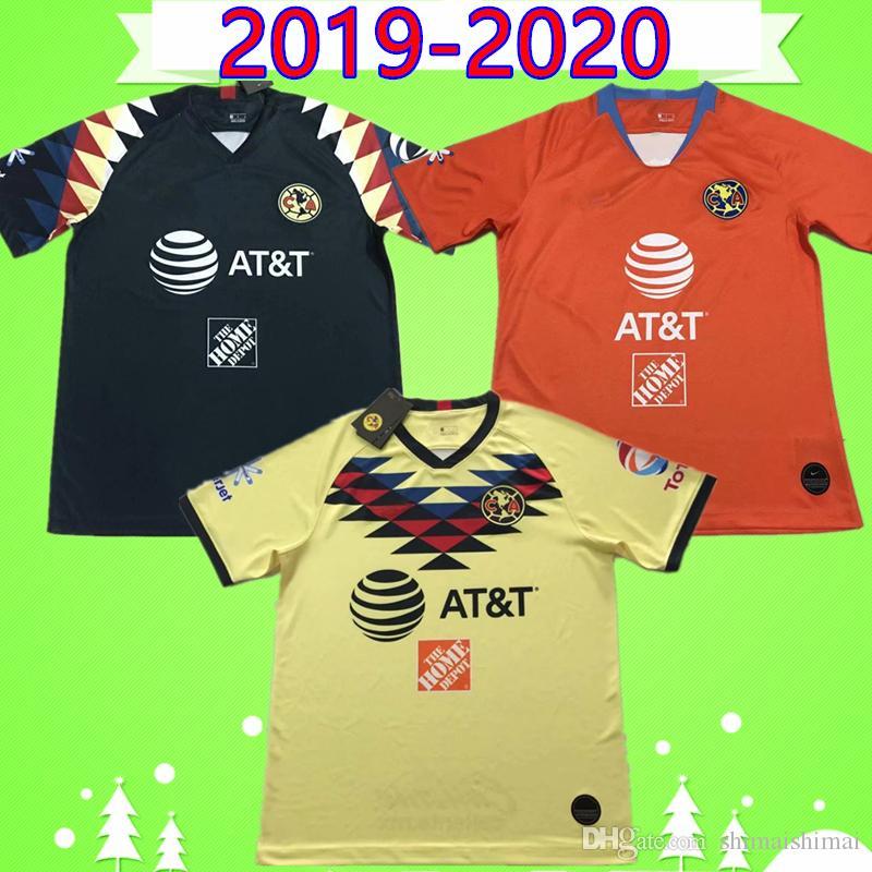 0f63a82bc 2019 2019 2020 O.PERALTA B.VALDEZ A.LBARRA LIGA MX Club Mexico America CA Soccer  Jersey Home Away 19 20 Camiseta Uniforms Shirt From Shimaishimai, ...