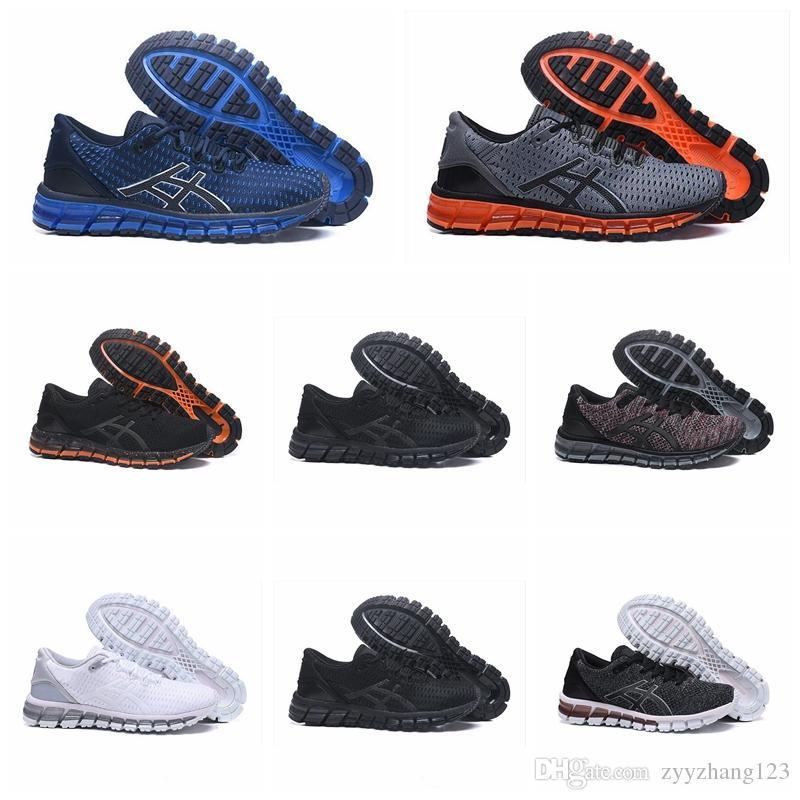 Asics GEL QUANTUM 360 KNIT 2 Tampon en tricot Chaussures de course pour hommes Sport ultra bottes meilleures chaussures de basket ball baskets