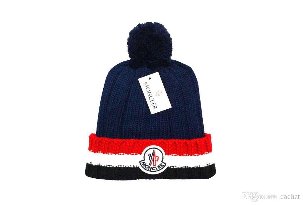 Franc Brand Mens Designer Hats Bonnet Winter Beanie Knitted Wool Hat Plus  Velvet Cap Skullies Thicker Mask Fringe Beanies Hats Drop Shipping Knitted  Hats ... 411b776700b