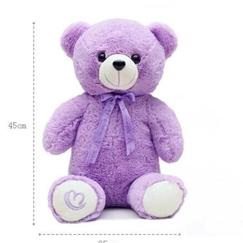Kawaii peluche teddy orso animali di peluche cartone animato