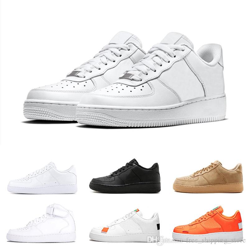 6fa80f4949de 2019 Casual Shoes Dunk Utility Black White Orange Wheat Low High Cut  Skateboard Shoe Mens Trainers Fashion Sports Sneakers Cute Shoes Mens Shoes  Online From ...