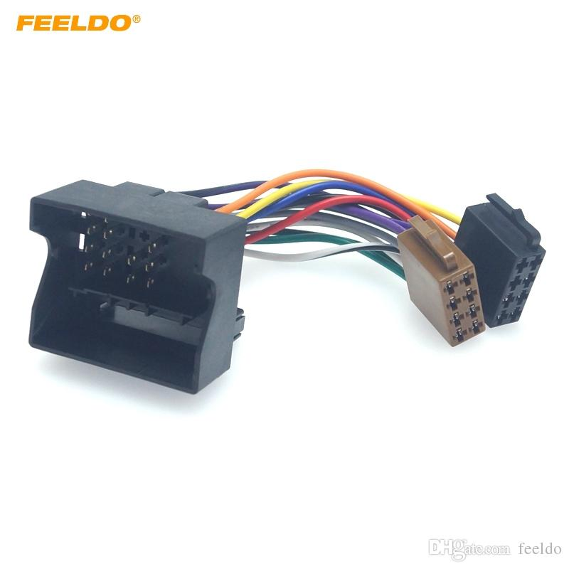 Astounding Feeldo Car Iso Stereo Radio Wire Adapter For Volkswagen Passat Bora Wiring Cloud Hisonuggs Outletorg