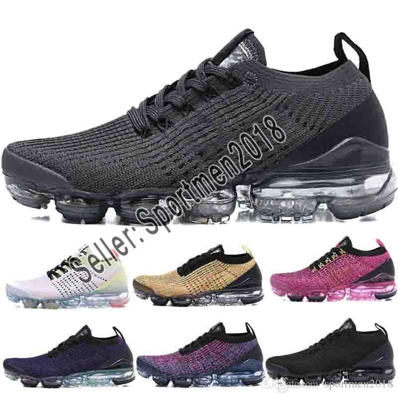 on sale 78a79 96d55 Compre Nike Air Max Airmax 2019 El Más Nuevo TN Fly 2.0 3.0 III Oreo Ponche  Caliente Polvo Cactus Colorways Zapatos De Diseñador Para Hombre Tejer ...