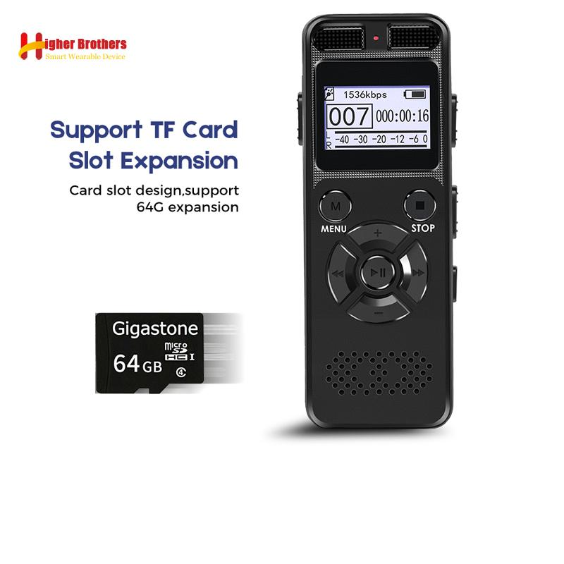 Tragbares Audio & Video Digital Voice Recorder Mini Diktiergerät Digital Voice Recorder Professional Audio Mit Mp3 Musik Spieler Digital Voice Recorder