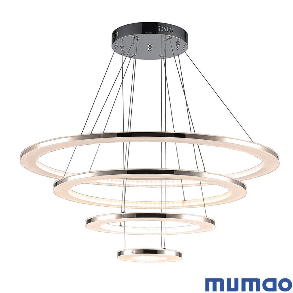 Moderne Lampes D Peinture Luminaires Lampe Dinning Acylic Led Escalier Pendentif Pour Salon Plafond Blanche Suspension Éclairage Lumières Lustres KTF1Julc3