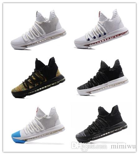 7bbc4b809b9 2018 New Style FMVP Kevin Men S KD X 10 Elite 8 Playoff Men S Shoes Warrior  Durant 10 Discount Sneakers 40 46 Shoe Boots Fashion Shoes From  Baoying88801