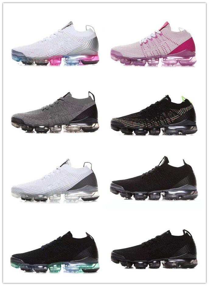 low priced e19d8 ab831 Acheter 2019 Nouveau Chaussures De Course Vapo Enfants Concepteur Unisexe  Mercurial Plus Tn Ultra Coussin D air Formateurs Noir Blanc Baskets En  Plein Air ...