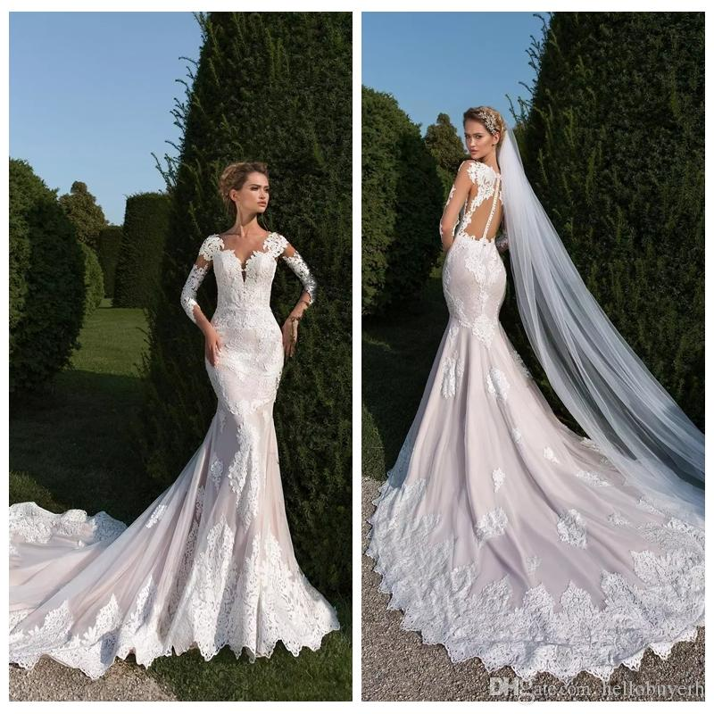 2019 spring beach mermaid lace country wedding dresses backless