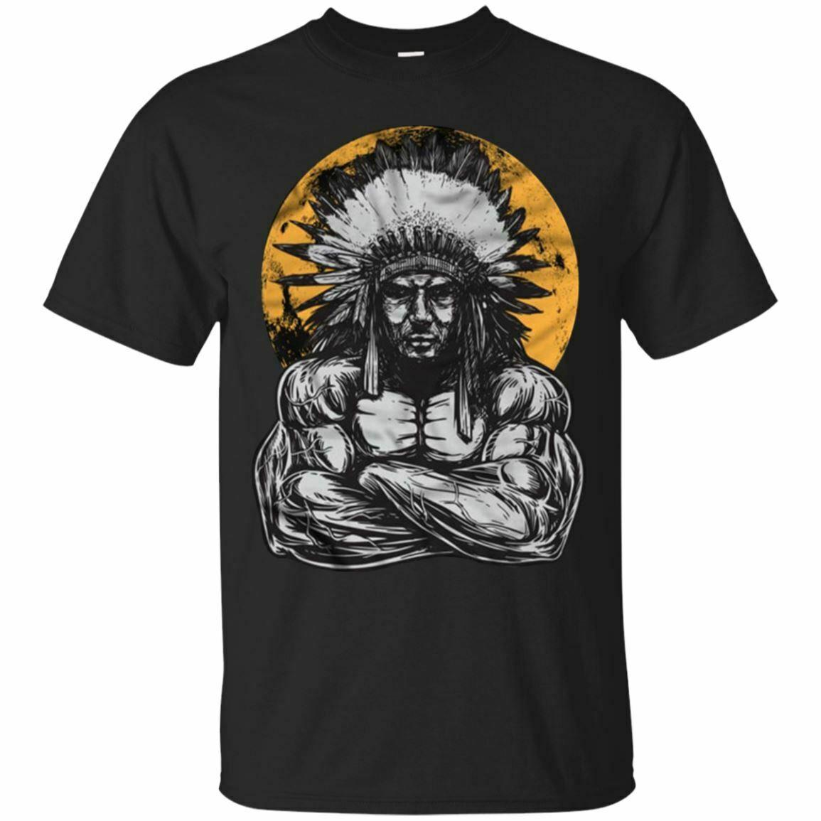 Indian Chief Body Building T-Shirt Gym Club Men's Tee Shirt Short Sleeve S-5XL Men Women Unisex Fashion tshirt Free Shipping black