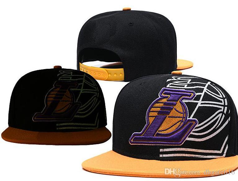 2019 Los Angeles hat LAL 23 James Basketball Caps Womens Mens Sports Snapback Hats Gorros ajustables Team Fans Sports Caps Hat