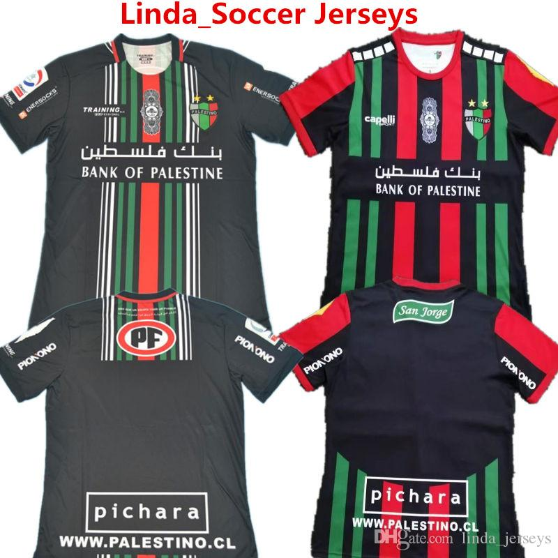 d094b756b62 2019 New Club Deportivo Palestino Soccer Jersey Chile 2019 Futbol Camisetas  Palestino VALLEJOS CUTIERREZ ORRES ROSENDE Away Football Tracksuits From ...