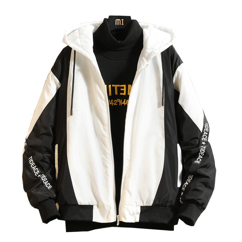 Devoted Mens Casual Hooded Coat Slim Jacket Overcoat Thin Windbreaker Hoodie Zipper Up Warm And Windproof Men's Clothing