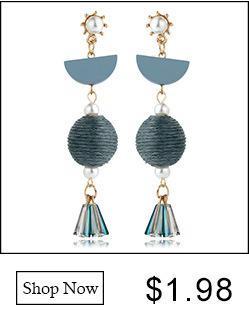 Meyfflin Moda Saplama Küpe Seti 5 Çift / takım Gümüş Renk Üçgen Bar Kristal Küpe Kadınlar için Boho Takı Brincos Yeni