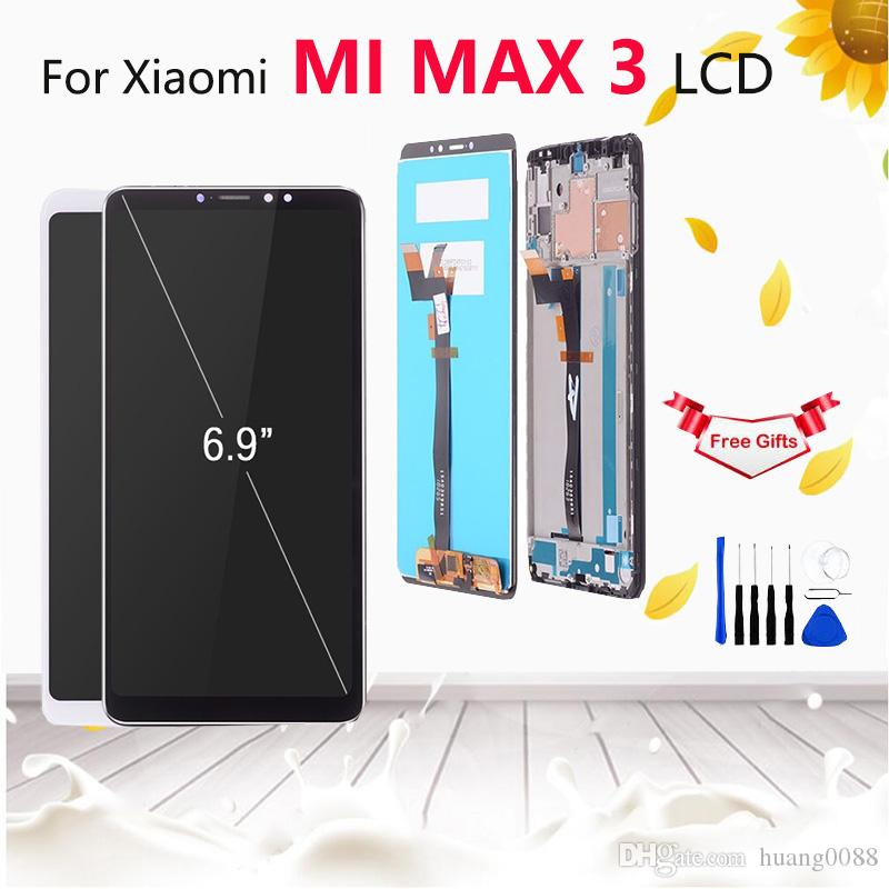 6 9 No Dead Pixel For Xiaomi Mi Max 3 Display ScreenReplacement MI Max 3  LCD Display Touch Screen Digitizer Assembly with Frame tools