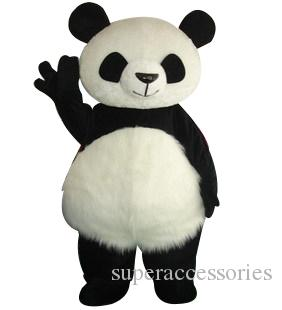 2019The panda mascot costume fancy party dress