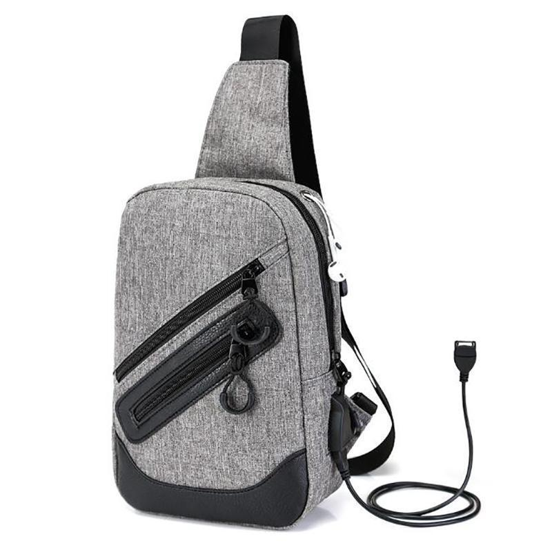 Male Chest Bag Fashion Leisure Waterproof Man Oxford Cloth Phone Korea Style  Vintage Zipper Shoulder Bags Teenager Black Pop Bags For Women Waist Pack  From ... ffe5f33d573e0
