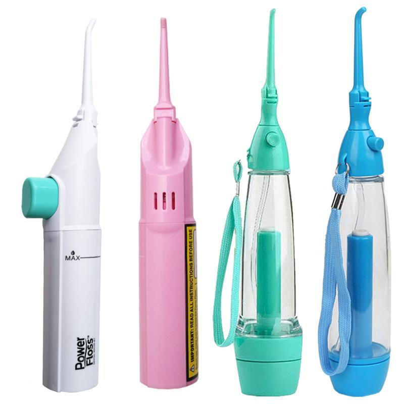 3dcab0026 Compre Flosser Flosser Dental Jet Flosser Power Gas Power 4 Cores Oral Care Irrigador  Dental Spa Clareamento Profundo Clareamento Dente Dentes Branqueamento ...