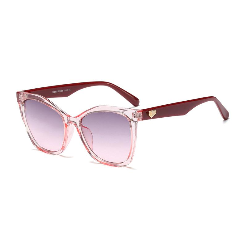 509d41d67fc Mincl Fashion Heart Personality Women Sunglasses Big Frame Trend ...