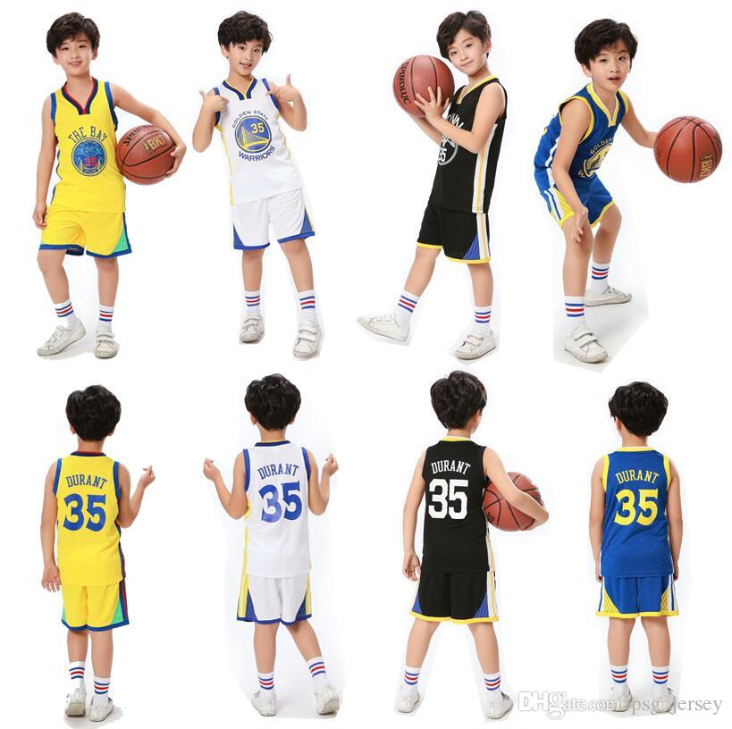 ade473093c7 2019 New DURANT Kids Basketball Jersey DURANT 35 UCLA University ...