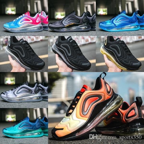 nike air max 720 720s Zapatillas deportivas para hombre Black Run Zapatillas de deporte originales para hombre Zapatillas de deporte para hombre