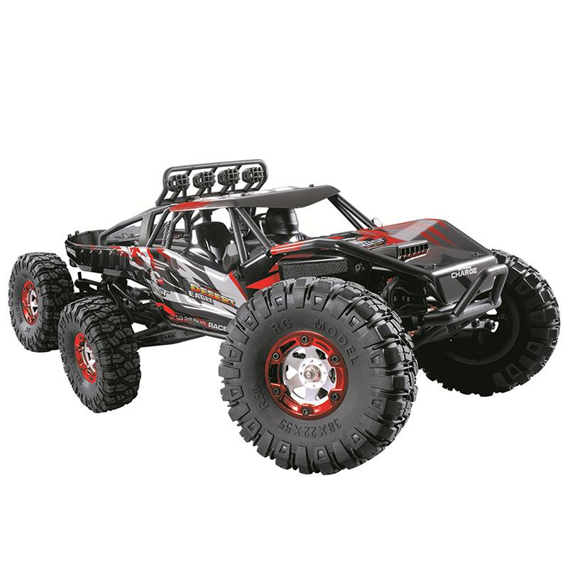 1:12RC remote control car 2.4G six-wheel drive high-speed car six-wheel brushless climbing off-road vehicle interactive toy resistant to fal