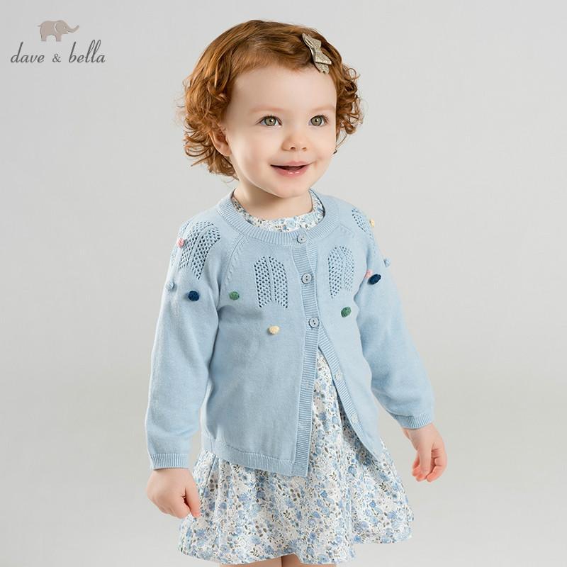 1531c9196a5f DBM9889 1 Dave Bella Spring Infant Baby Girls Fashion Cardigan Kids ...