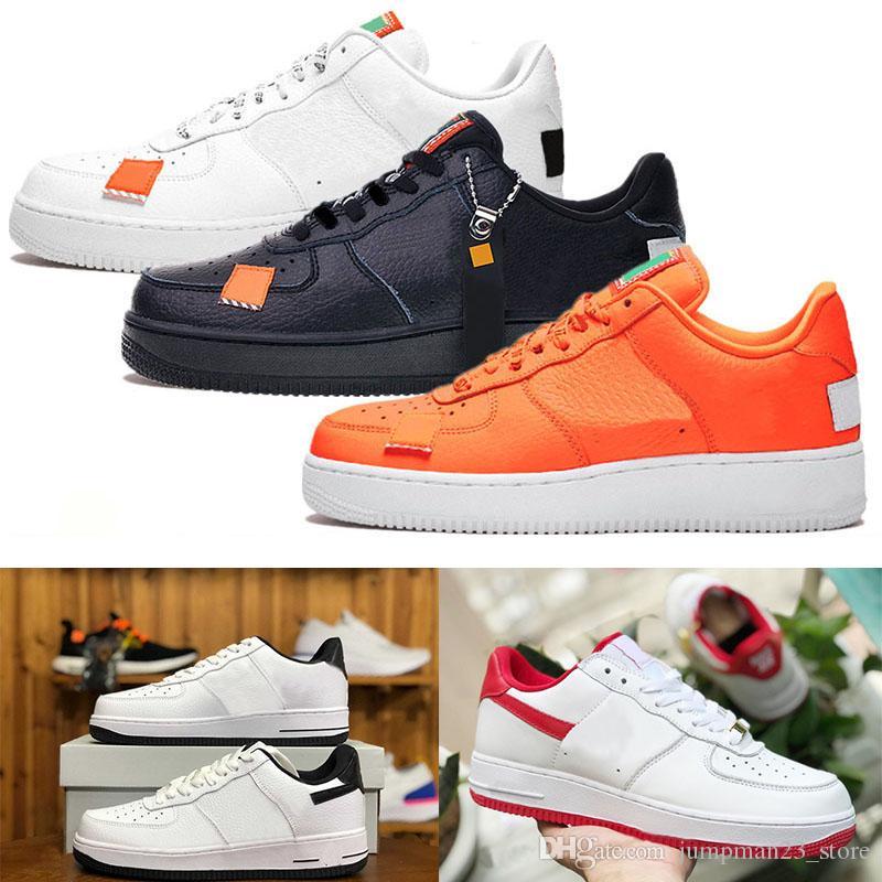best authentic 0ee2e 8fa43 Air Force 1 AF1 NIKE Unos Zapatos De Baloncesto Para Hombres, Mujeres, Solo  Volcan, Utilidad, Blanco, Negro, Naranja, Trigo, High Low, Para Hombre, ...
