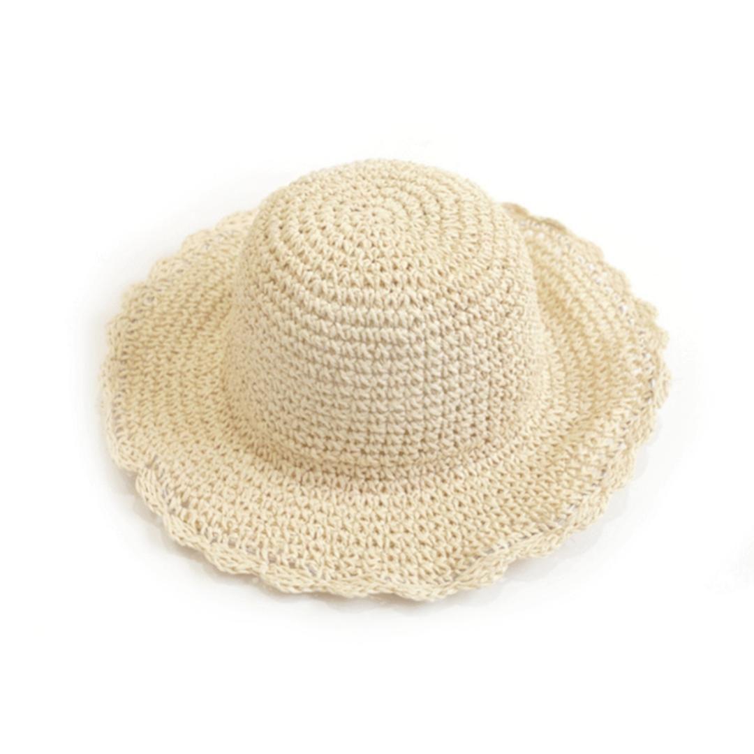 Compre Paja De Playa Para Mujer Al Aire Libre Con Sombrero Grande Para El  Ocio Al Aire Libre Sombrero De Sol Para Mujeres Calientes A  40.17 Del  Tenni ... 18afe614f4d