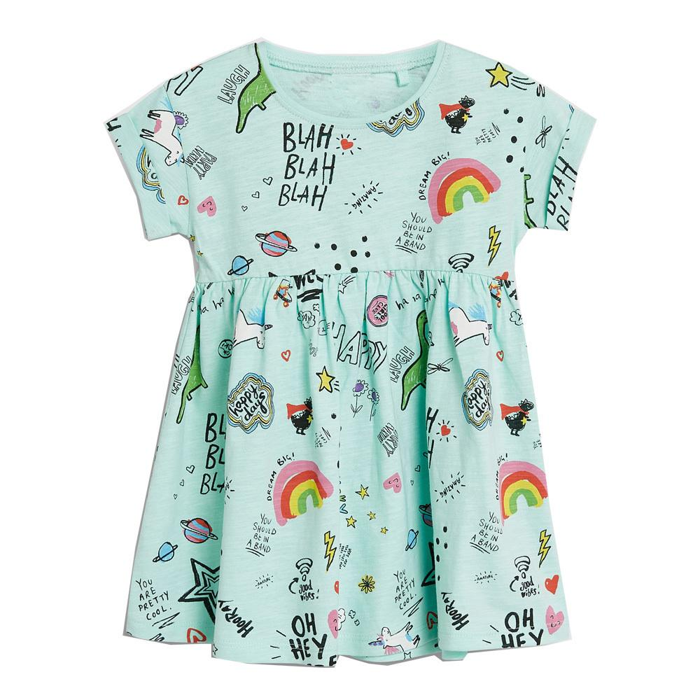 5adf8f486 2019 Little Girl Dresses 2019 Summer Kids Dresses For Girls Clothing  Children Unicorn Party Dress Princess Costume Baby Girl Clothes From  Xiaocao06, ...