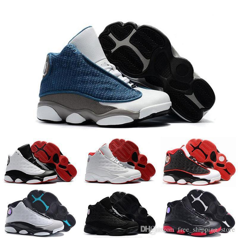 sale retailer 52145 11925 13 Kids New 13s Basketball Shoes Chicago He Got Game Bred Altitude Dmp Boys  Girls Sneakers Children Baby Sports Shoes Size 11c-3y
