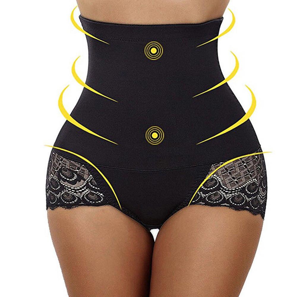 bfb6cdd99 Women Body Shaper Control Tummy Slim High Waist Lace Shapewear Underwear  High Waist Panties Women Sexy Briefs Thongs  7 Briefs Cheap Briefs Women  Body ...